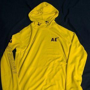NWT American Eagle Neon Yellow Medium Sweatshirt